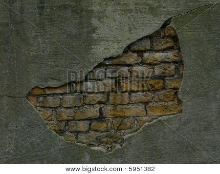 Bricks & Plaster Wall
