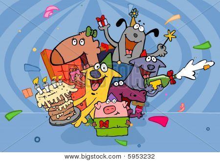 Suprise on Birthday