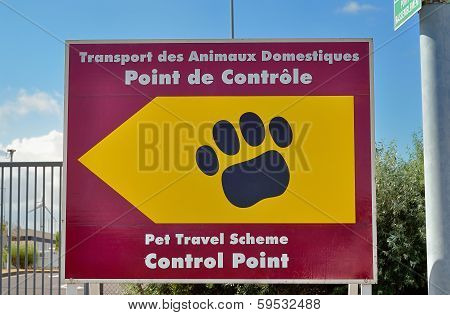 Pet Passport Animal Control Centre For Travel To The United Kingdom
