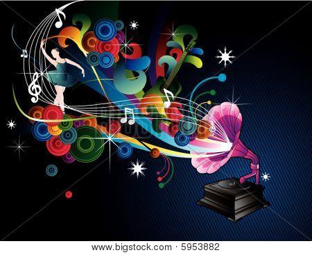 music vector illustration
