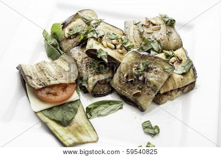 Eggplant Appetizers