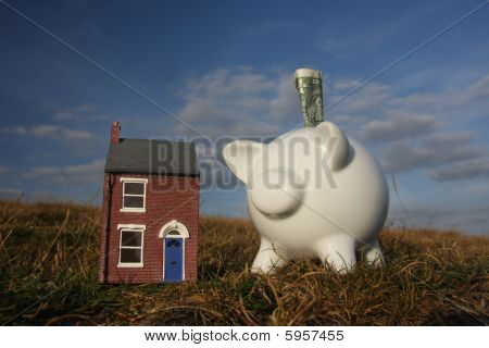 Saving for a new home.