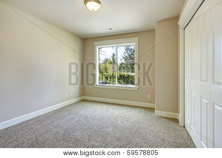 Bright Empty Bedroom