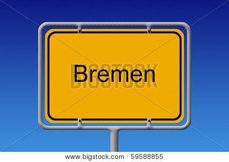 City Sign Bremen