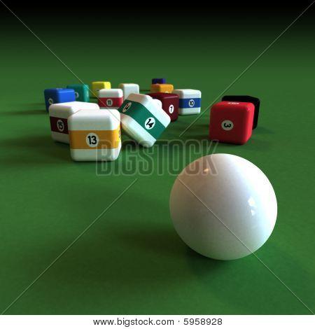 Impractical Billiard