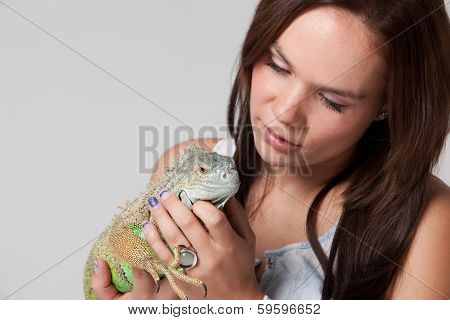 Girl With A Dragon