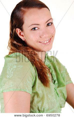 Portrait Of A Pretty Girl.