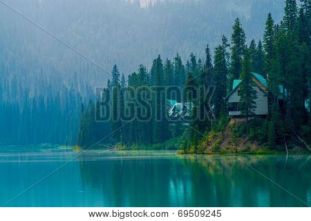 Cabins, Emerald Lake