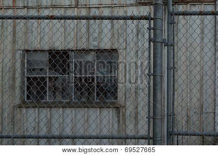 Old Abandoned Warehouse At The Britannia Shipyard At Steveston Canada poster