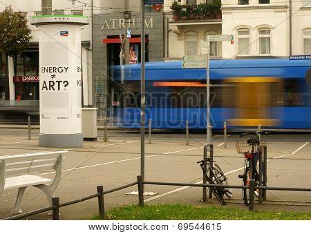 Station forecourt Kassel
