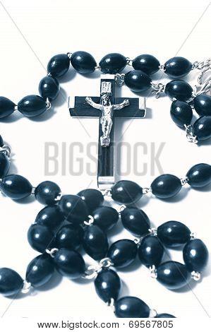 Catholic Rosary With Crucifix