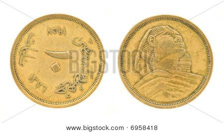 Egyptian Money - Pounds And Piasters