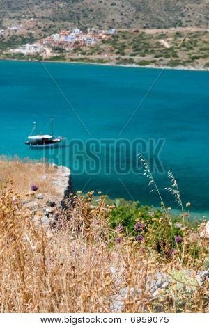 Greek Island Sea View