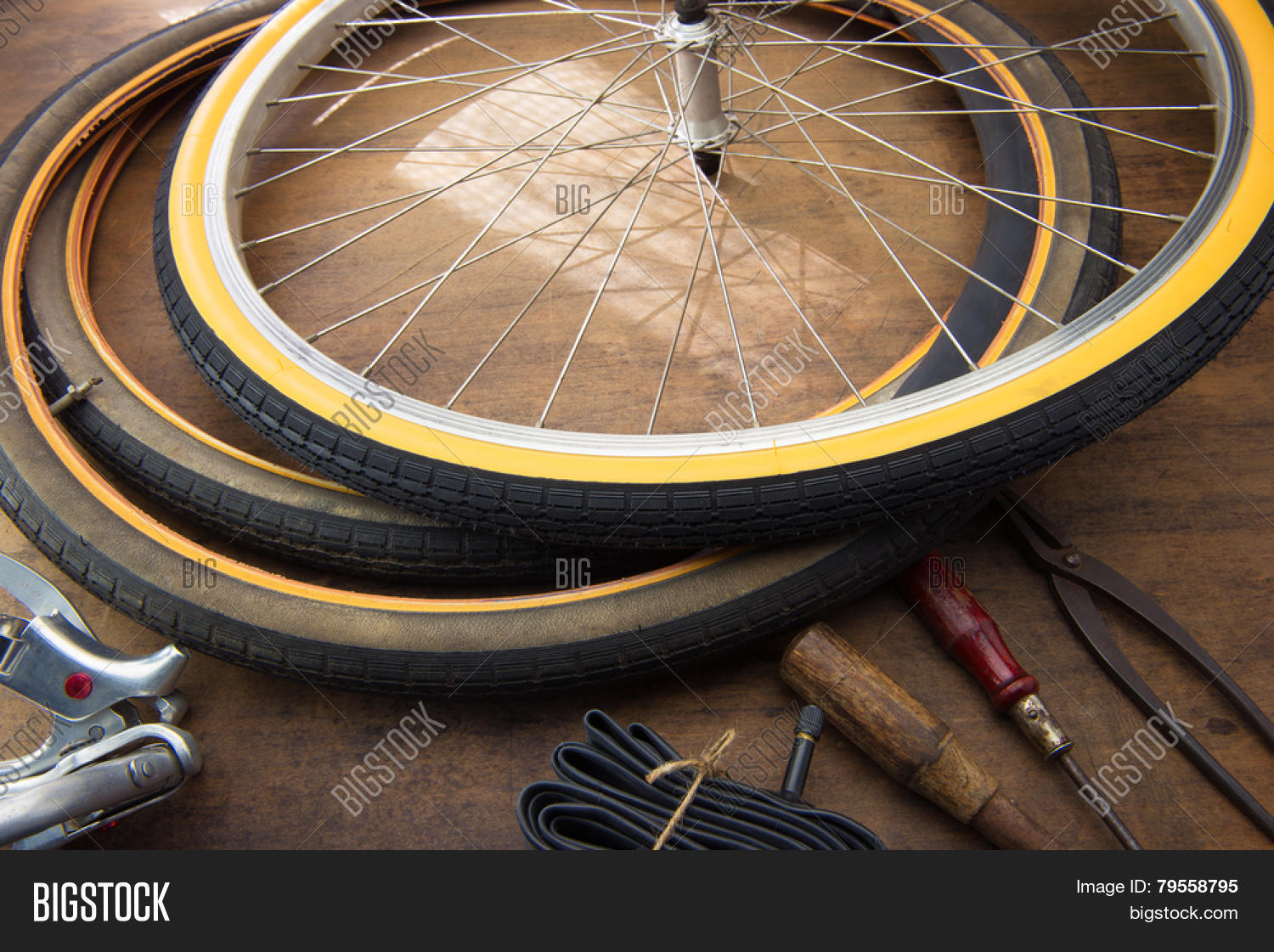 Bicycle Repair  Image & Photo (Free Trial) | Bigstock