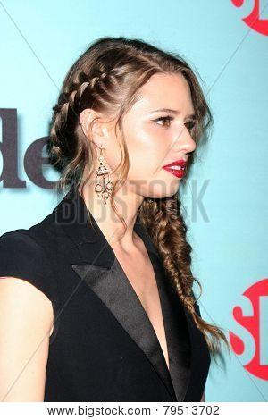 LOS ANGELES - JAN 5:  Alessandra Balazs at the Showtime Celebrates All-New Seasons Of