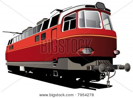 Retro Electric Train