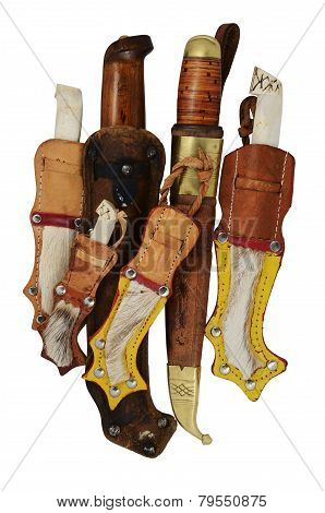 Lot Of Traditional Finnish Knife Puukko