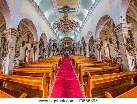 Supetar church interior