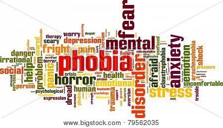 Phobia Word Cloud
