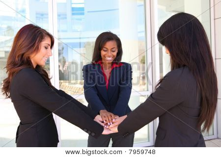 Business Woman Teamwork