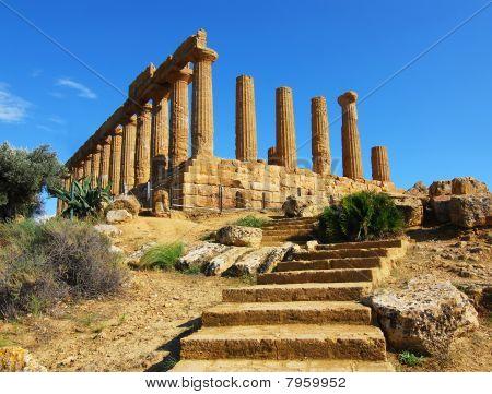 Ruins In Agrigento, Sicily