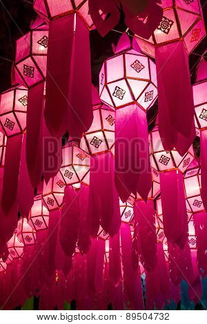 Lamp Of Yee Peng Festival