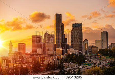 Seattle Scenic Sunset