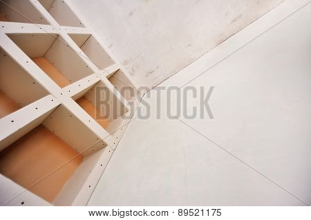 Sheetrock Or Drywall Background
