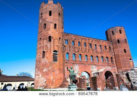The Torri Palatine in Turin