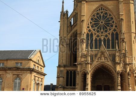 Metz Cathedral Front