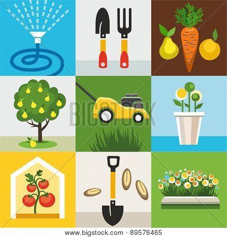 Icons Garden, Vegetable Garde...