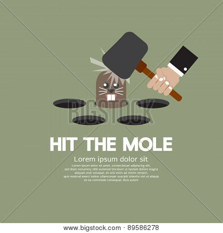Hit The Mole Fun Game.