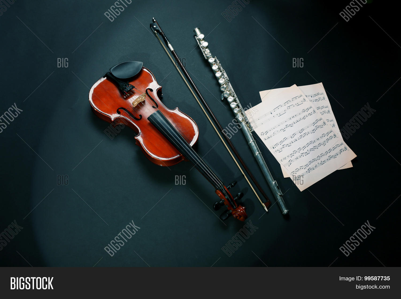 Картинки флейта и скрипка