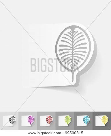 realistic design element. palm Jebel Ali