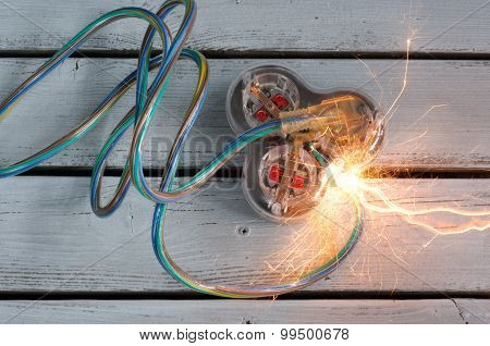 Short Circuit On Extension Cord