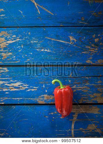 Red Organic Pepper