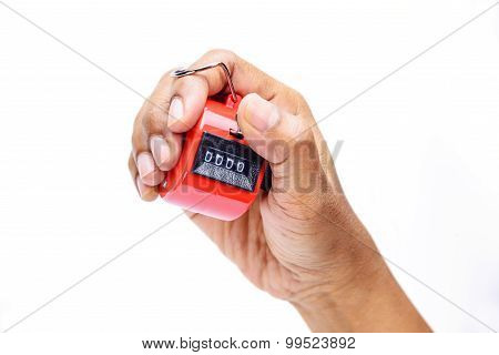 Hand held tally counter counter clicker counting machine