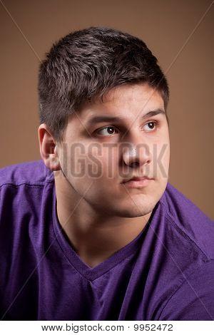 Man Thinking Deeply