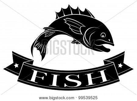 Fish Menu Label