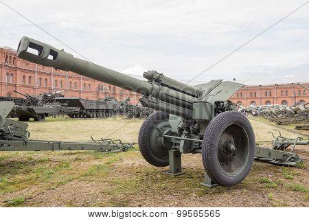 152-mm Howitzer D-1.
