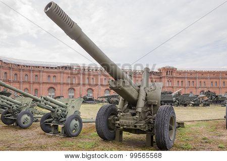 152-mm Howitzer-gun ML-20
