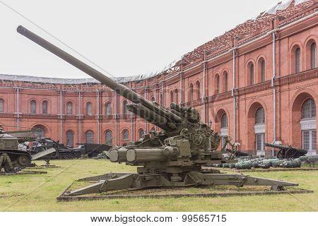 130-mm Anti-aircraft Gun Ks-30, Mod. 1952