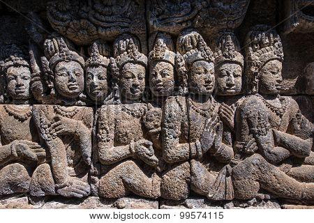 Relief of Borobudur Temple, Jogja, Indonesia 2