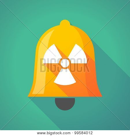 Bell Icon With A Radio Activity Sign