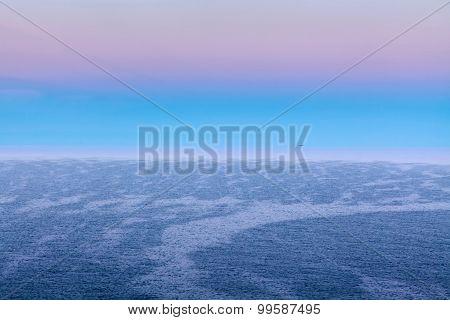 Distant Ship On The Horizon