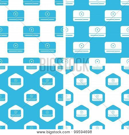 Mediaplayer window patterns set