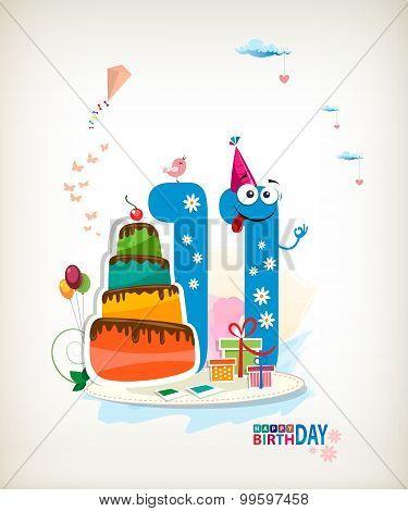 Eleventh Birthday.