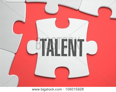 Talent - Puzzle on the Place of Missing Pieces.