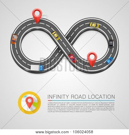 Infinity Road location