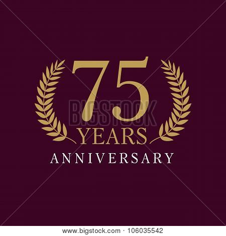 75 anniversary royal logo